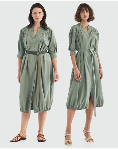 Carl Kapp Sabal Dress Sage