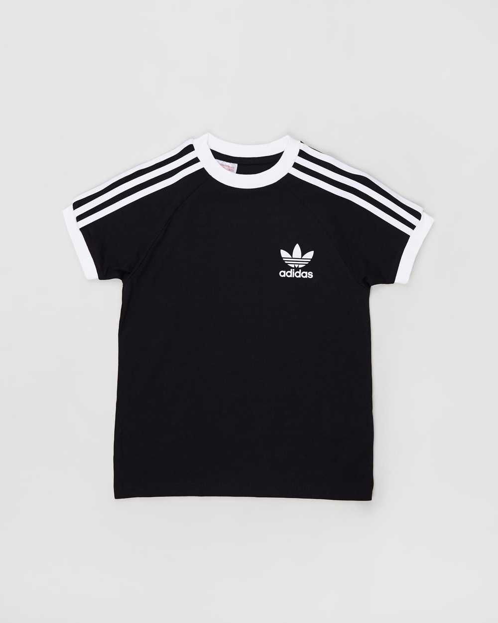 adidas Originals 3 Stripes Tee Short Sleeve T-Shirts Black 3-Stripes