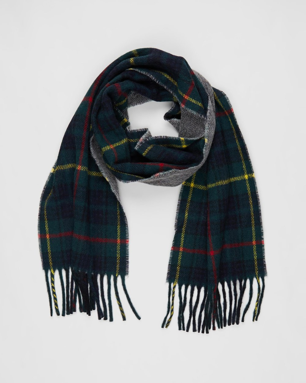 0ded2ad1139 Reversible Driver Plaid Scarf by Polo Ralph Lauren Online