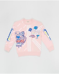 Kenzo Kids - Frilly Sweatshirt - Teens