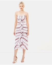C/MEO COLLECTIVE - On Her Own Midi Dress