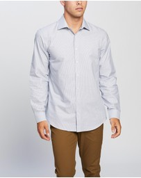 Ben Sherman - LS Formal Kings Fine Grid Dobby Shirt
