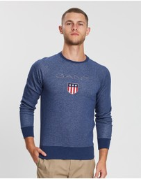 Gant - Shield Crew-Neck Sweater