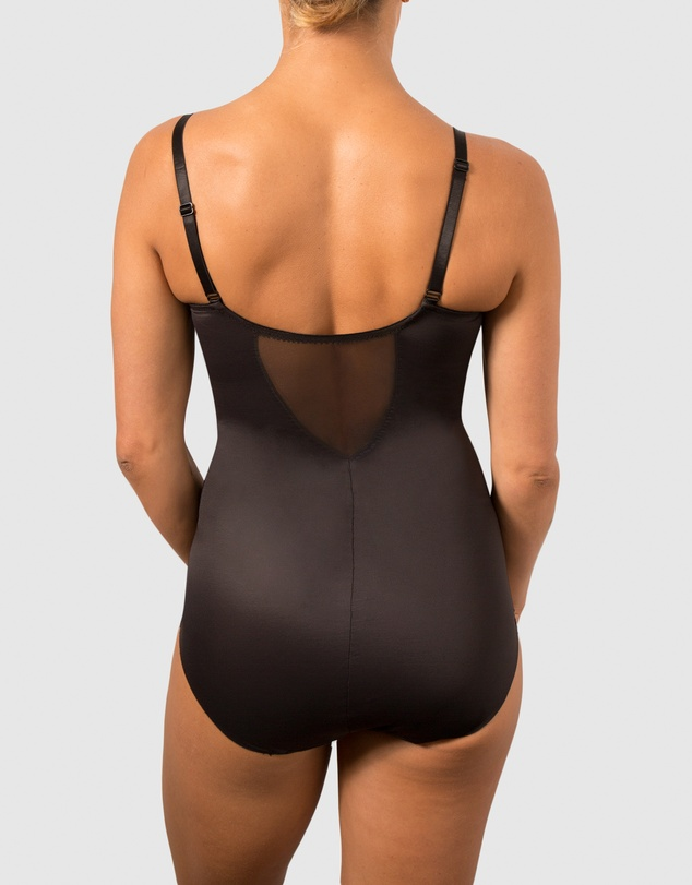 Women Sheer Shaping X-Firm Underwire Bodybriefer