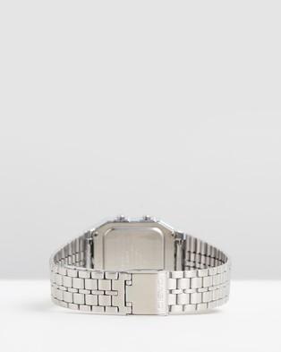 Casio Vintage A500WA 1DF - Watches (Silver)