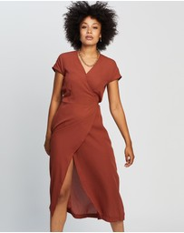 Silent Theory - Magnolia Wrap Dress