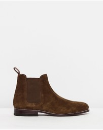 G. H. Bass & Co. - Monogram Chelsea II Suede Boots