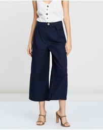 M.N.G - Flared Button Trousers