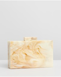 Brie Leon - Resin Clutch V2 with Gold Chain