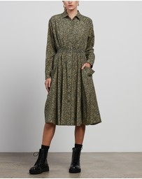 Kenzo - Micro Camo' Fitted Shirt Dress