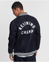 Reigning Champ - Embroidered Stadium Jacket