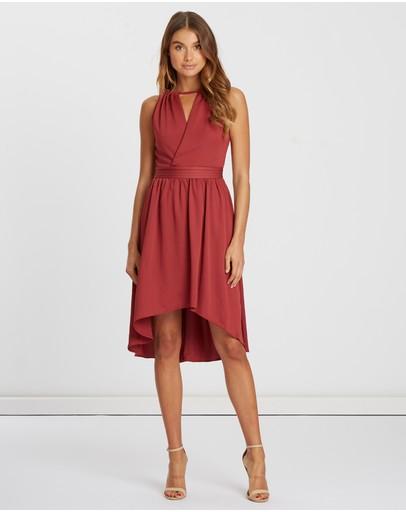 Chancery Arabella Midi Dress Wine