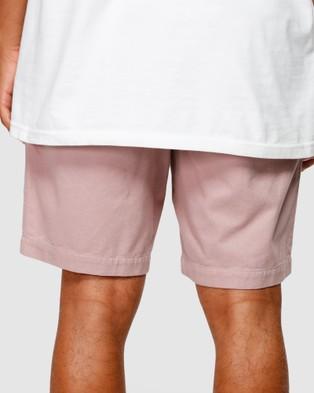 Billabong Larry Layback Twill - Shorts (PINK HAZE)