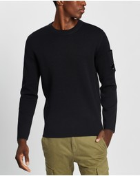 C.P. Company - Crew Neck Pocket Knitwear
