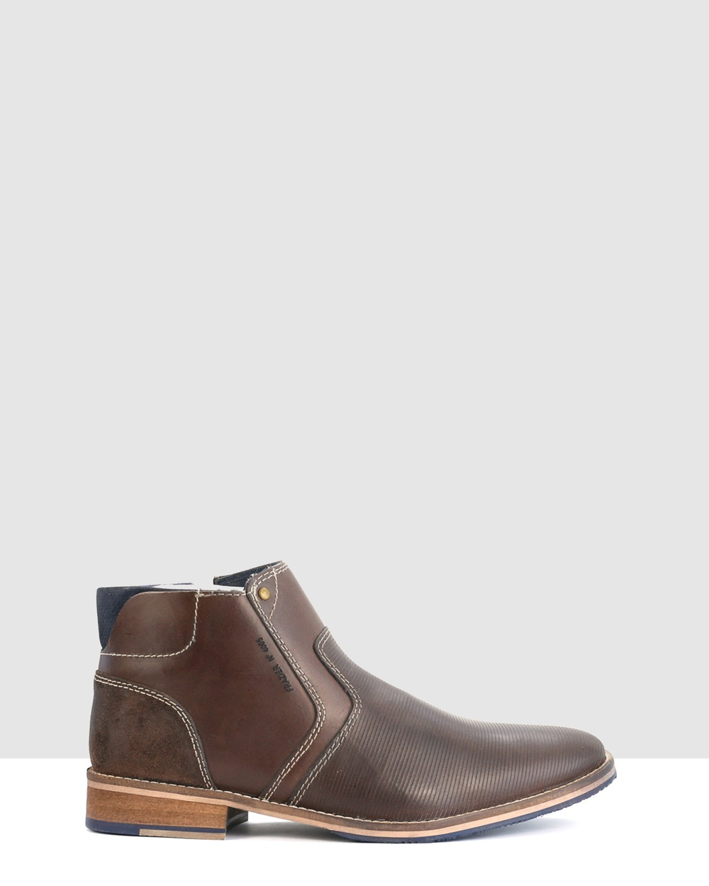 Acton Frazier Boots Brown