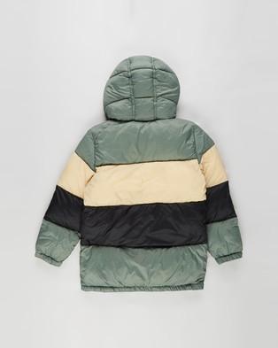 Cotton On Kids - Frankie Puffer Jacket   Kids Teens - Coats & Jackets (Swag Green, Semolina & Black) Frankie Puffer Jacket - Kids-Teens