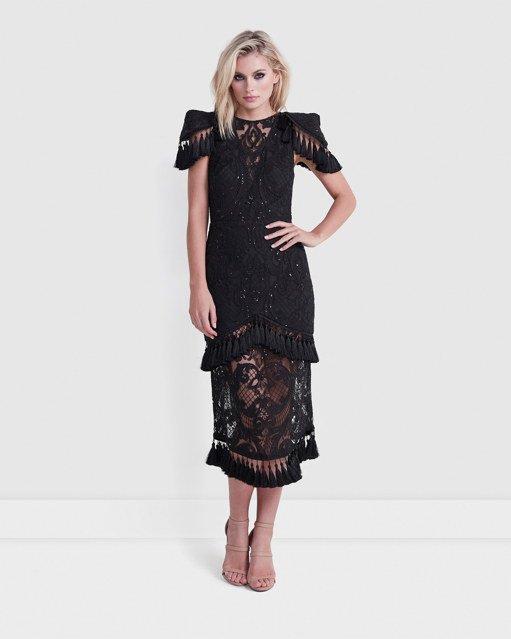 TORANNCE Black High Hopes Dress