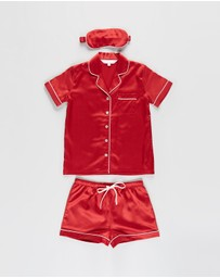 Homebodii - Grace Pyjama & Eyemask Set - Kids-Teens