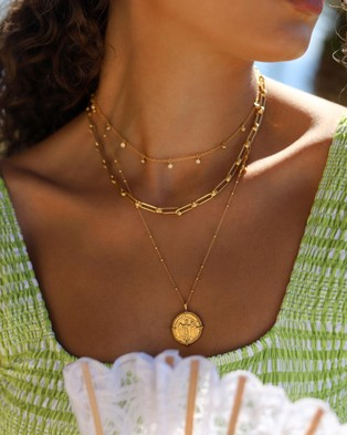 Missoma Aegis Chain - Jewellery (18ct Gold Plated on Brass)