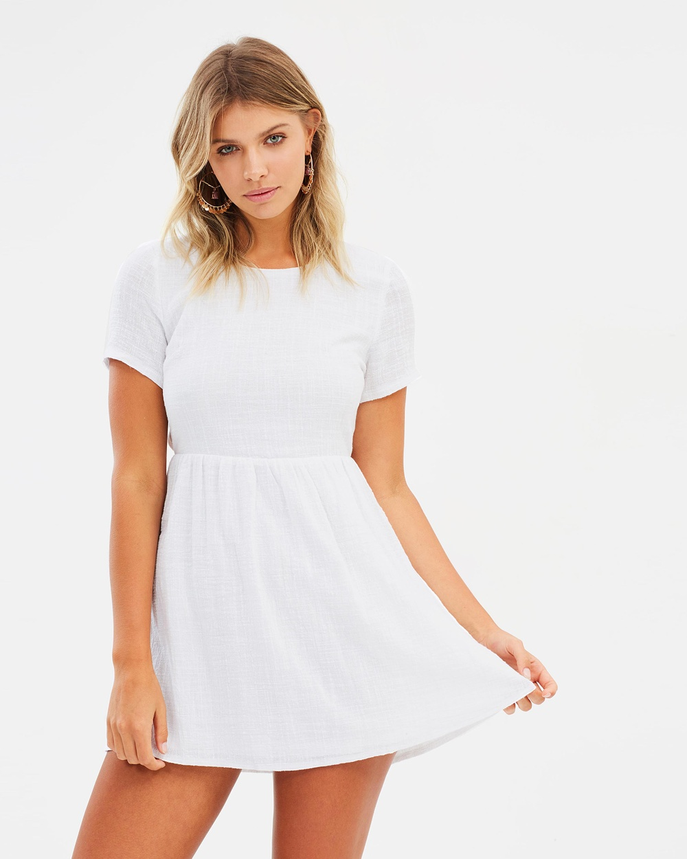 Girl & The Sun By The Sea Mini Dress Dresses White By The Sea Mini Dress