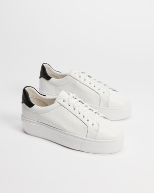 Mollini Caysee - Sneakers (White & Black)