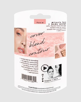 Real Techniques Miracle Face & Body Sponge - Bags & Tools (1489 )