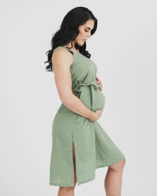 Kate Douglas Designs The Abbie Dress - Dresses (Green)