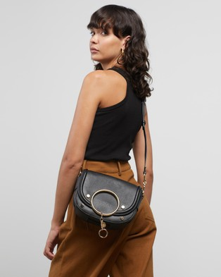See By Chlo?? - Mara Cross Body Bag - Satchels (Black) Mara Cross Body Bag