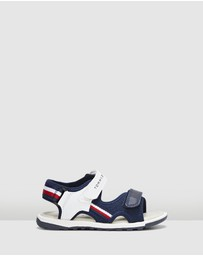Tommy Hilfiger - Strap Fabric Sandals