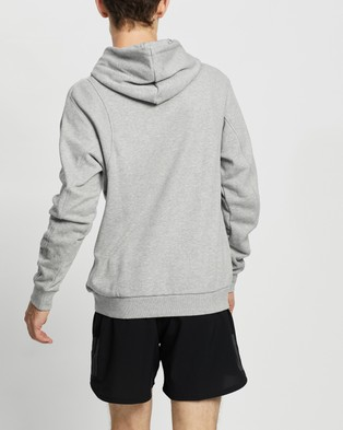 adidas Performance Sportswear Badge of Sport Hoodie - Hoodies (Medium Grey Heather)