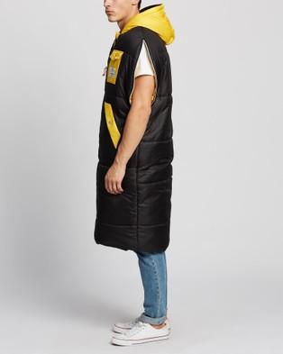 Poler Reversible Napsack - Sleeping Bags & Napsacks (Black & Yellow)