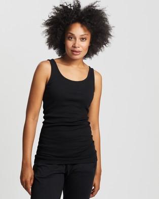 Australia Sweaty Betty Mantra Yoga Vest - Muscle Tops (Black)