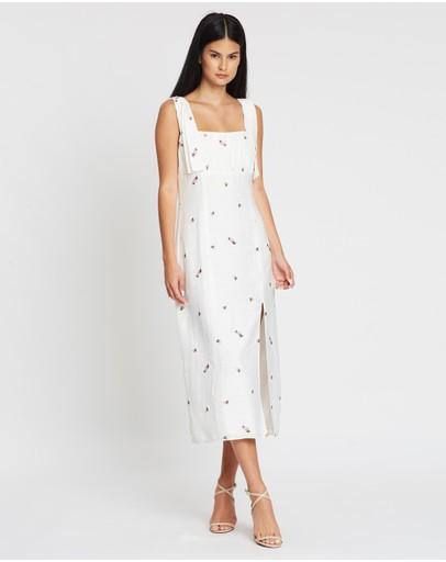 The East Order Quinn Midi Dress Camellia Muse
