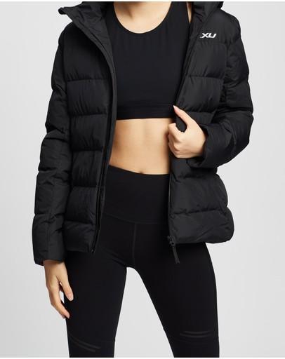 2xu Insulation Jacket Black & White Reflective