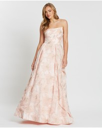 Bariano - Candi Asymmetric Ball Gown