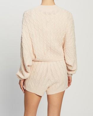 Dazie Fashion Fix Knit Jumper - Jumpers & Cardigans (Cream)