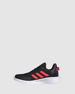 adidas Performance - Tensaur Grade School Lifestyle Shoes (Black/Signal Pink)
