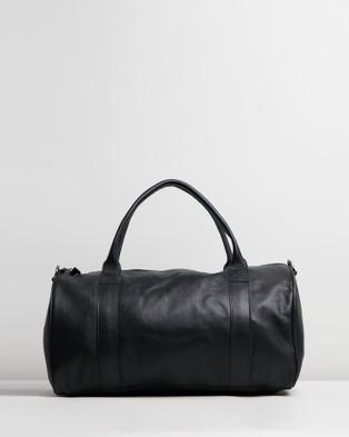 Stitch & Hide Globe Weekender - Duffle Bags (Black)