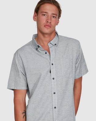 Billabong All Day Short Sleeve Shirt - Shirts & Polos (LIGHT GREY)