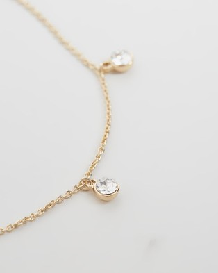 Mestige Alina Anklet Jewellery Gold