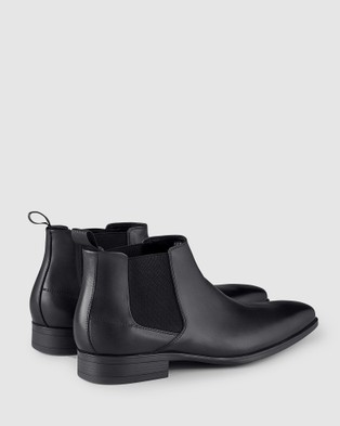 AQ by Aquila Haywood Chelsea Boots - Dress Boots (Black)