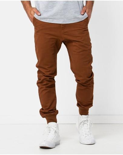Onebyone Beau Chino Pants Bronze