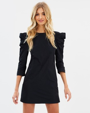 Miss Selfridge – Taffeta Prawn Sleeve Dress