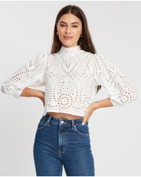Rolla's - Stephanie Lace Blouse