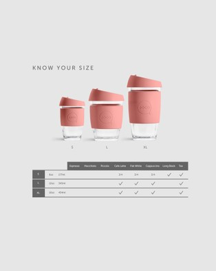 Joco Cups Joco Cup   Utility 16oz - Home (Rose)
