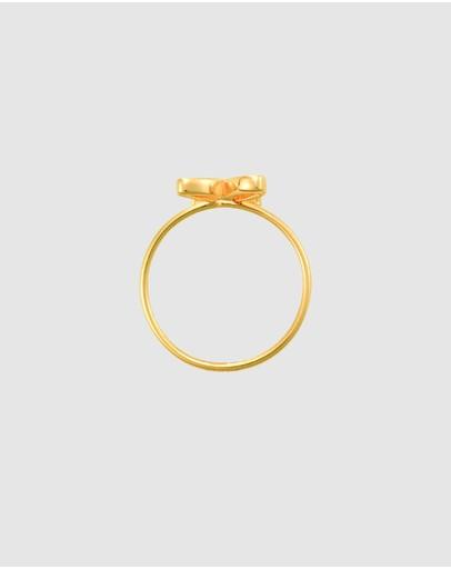 Secret Sisterhood Small Symbol Ring Gold
