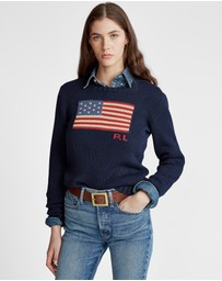 Polo Ralph Lauren - Long Sleeve Crew Neck Polo Jumper