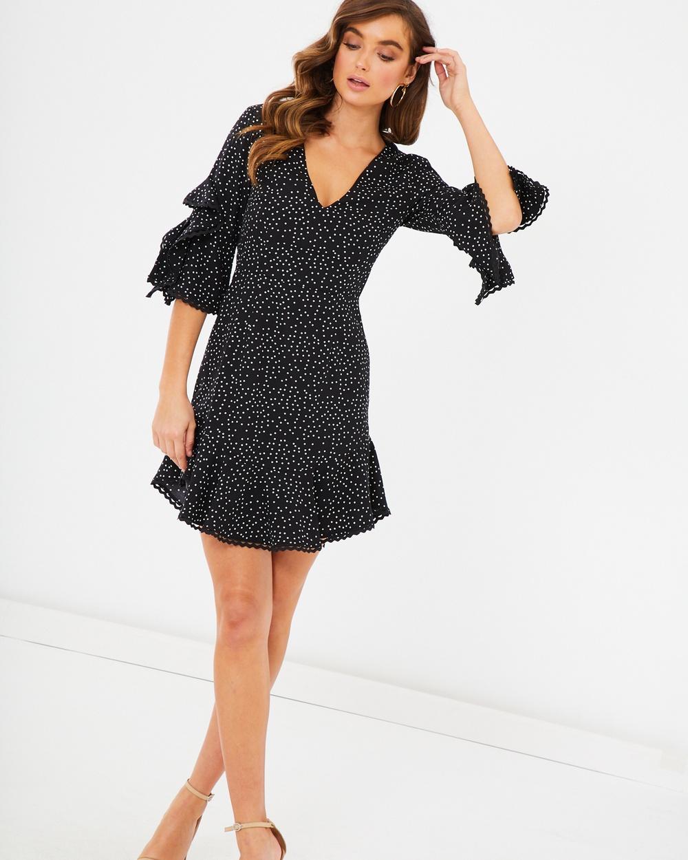 Photo of Tussah Black Spot Perla Dress - beautiful dress from Tussah online