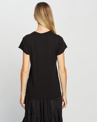 Jac + Jack Andie Tee - T-Shirts & Singlets (Black)