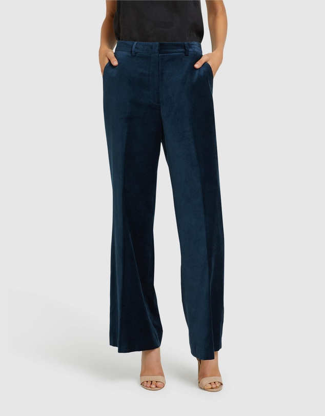 Oxford - Lauren Velvet Trousers